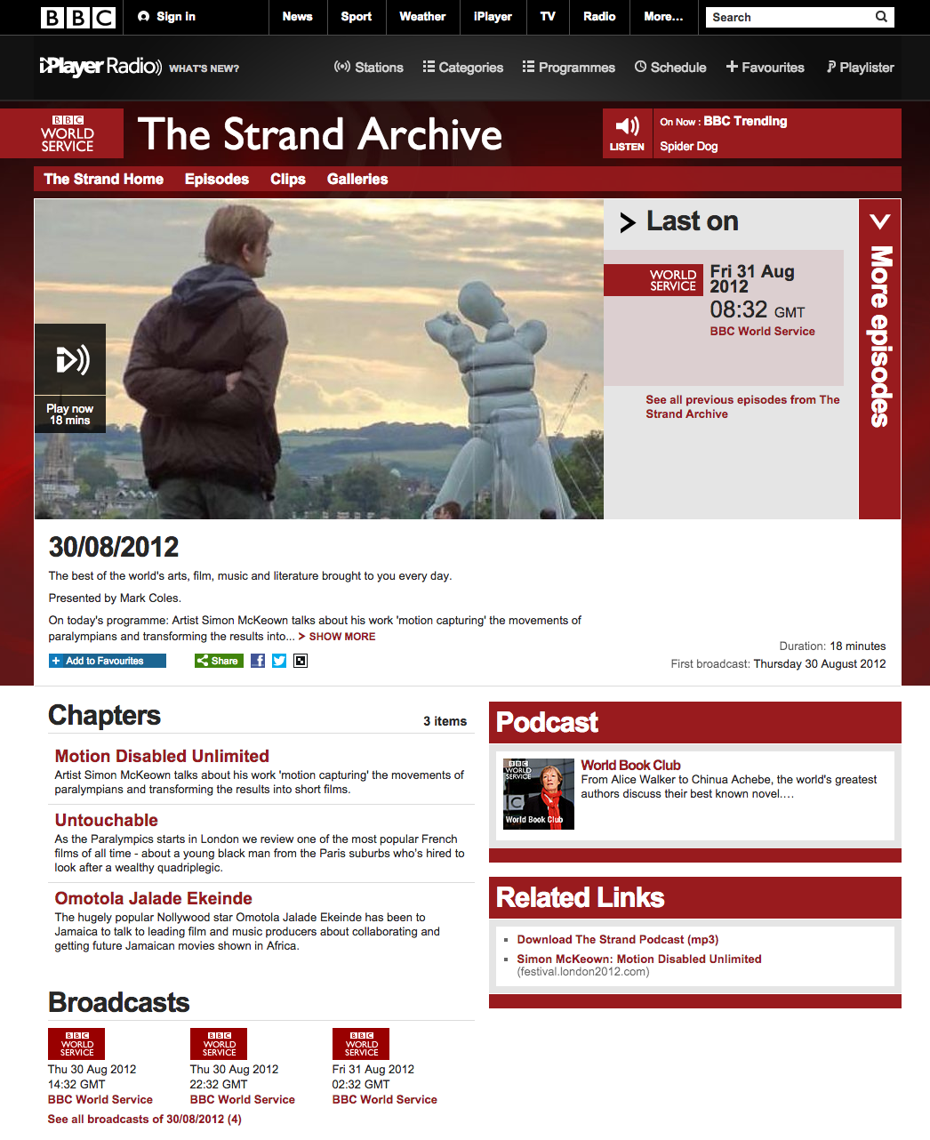 BBC World Service The Strand Archive 30 08 2012 Simon Mckeown.png